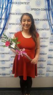 Congratulations to our 7th grader, Monica Law for presenting her speech on bully prevention at the CVESD District finals! We are so proud of her hard work and the social intelligence she used when discussing such a complex and widely discussed concern.